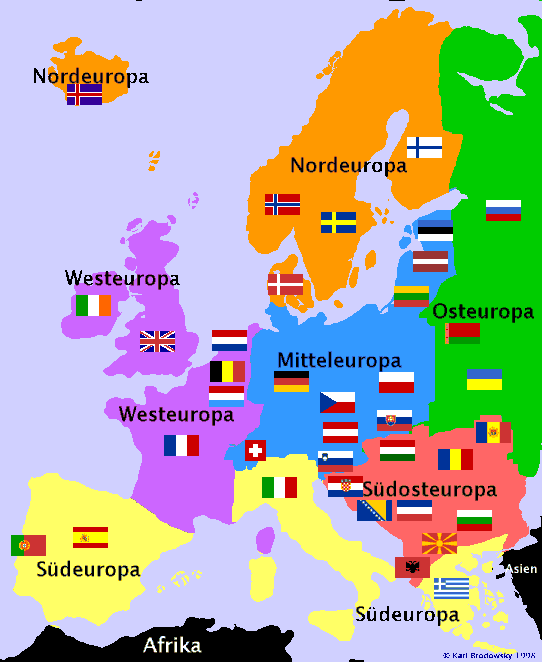 Europakarte Nordeuropa Karte.Radtouren Nach Ländern Und Regionen Suchen Karl Brodowsky